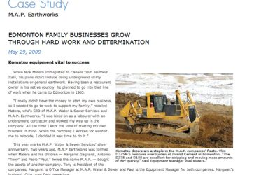 Case Study: M.A.P. Earthworks